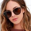 Автомобильные водительские очки анти-UVA UVB солнцезащитные очки женские кошачий глаз Ретро дизайнерские круглые негабаритные очки солнцеза...