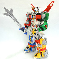 16057 2334Pcs Ideas Series Voltron Cosmic model Building Block Bricks Toys Children's educational gift Compatible with 21311