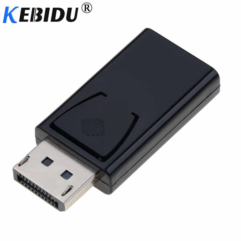 Kebidu DisplayPort Dp Display Port TO HDMI Konektor Kabel Adaptor Konverter untuk NVIDIA AMD PC Notebook Laptop Monitor HD HDTV
