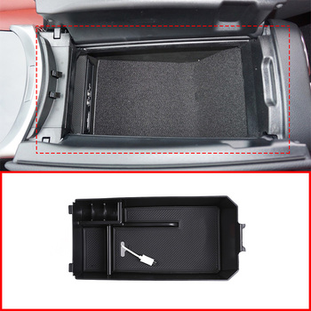 For Mercedes Benz C GLC Class W205 C180 C200 C260 C300 GLC200 GLC260 GLC300 Central Storage Box Door Phone Glove Armrest Box image