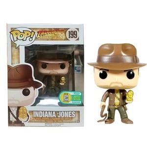 Image 2 - funko pop INDIANA JONES 199# Vinyl Action & Toy Figures Collectible Model Toy for Children