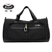 Weekend-Organizer Luggage-Bags Travel Handbag Foldable Nylon Large-Capacity Women YINJUE