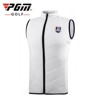Men Sleeveless Golf Vest Jacket Winter Keep Warm Thicken Vest Coat Man Lightweight Soft Sports Coat Jacket M XXL D0833