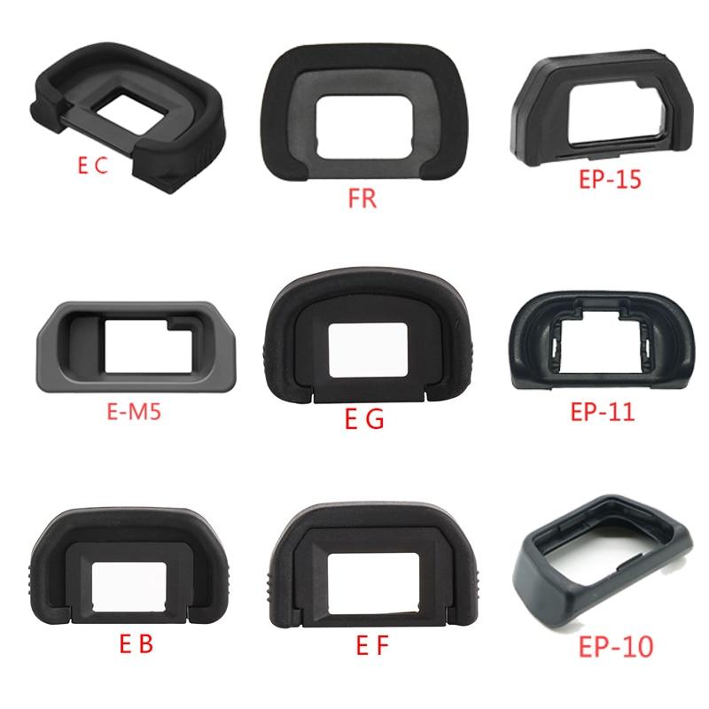 Резиновый наглазник EB EG EP-10 EF E-M5 EP-15 EP-11 FR ECEyepiece наглазник для Nikon Canon Olympus Pentax Камера зеркальных