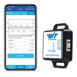 Bluetooth 2.0 2 Axis Digital Tilt Angle + 3 Axis Accelerometer + Gyroscope AHRS IMU Sensor MPU6050 BWT61CL For PC/Android/MCU(China)