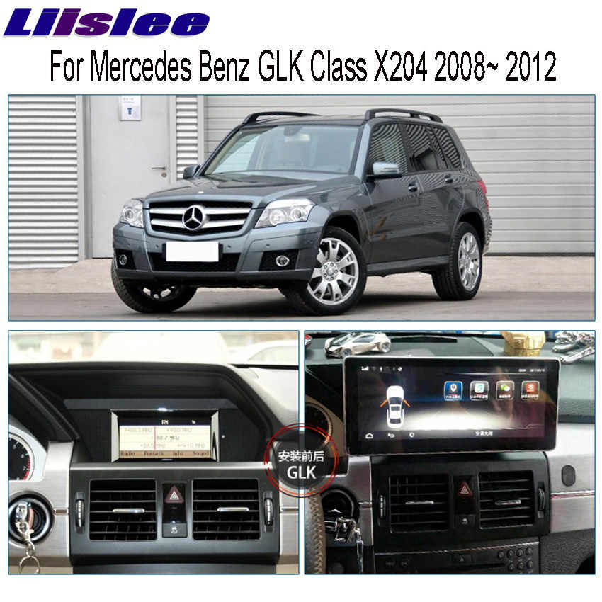 "Liislee 10.25 ""Android untuk Mercedes Benz GLK X204 2008 ~ 2012 Touch Screen Gps Navigasi Radio Stereo Dash Multimedia pemain"