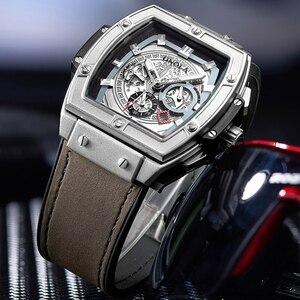 Image 2 - ONOLA tonneau Automatic Mechanical นาฬิกาผู้ชายแบรนด์หรูที่ไม่ซ้ำนาฬิกานาฬิกาข้อมือแฟชั่นนาฬิกา Casual CLASSIC designer นาฬิกาชาย