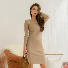 Женское трикотажное мини платье облегающее модное зимнее облегающие
