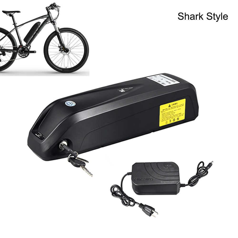 Caja de batería para ebike 48v batería 12,5ah 13ah 16ah Scooter batería 36v 13ah 15ah Hailong LG 18650 bicicleta eléctrica + cargador