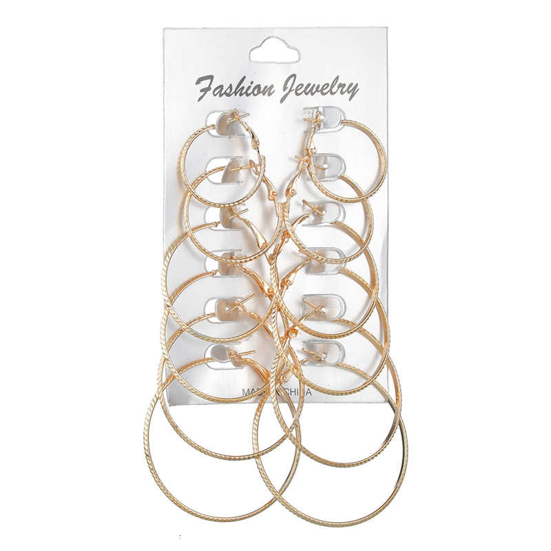ผู้หญิงโลหะเงินวงกลมชุดต่างหูแฟชั่นหูแหวนเครื่องประดับสำหรับสาวของขวัญวันเกิด Party อุปกรณ์เสริม
