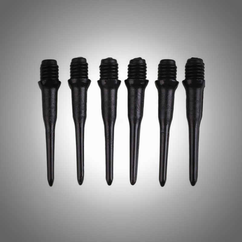 4.5MM Soft Black Plastic Tips Points Needle Replacement Set For Electronic Dart