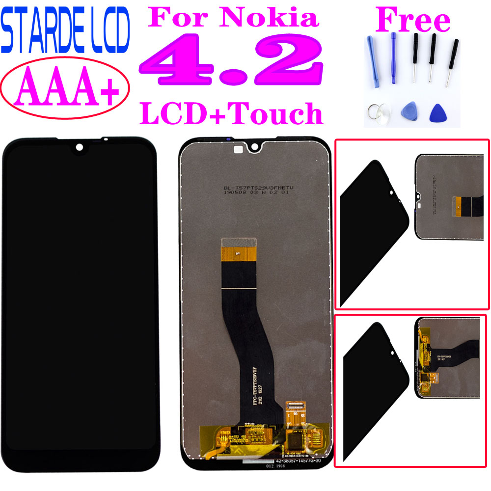 AAA+ 5.71'' For Nokia 4.2 LCD Display TA-1184 TA-1133 TA-1149 TA-1150 TA-1157 Touch Screen Digitizer Assembly For Nokia 4.2 lcd