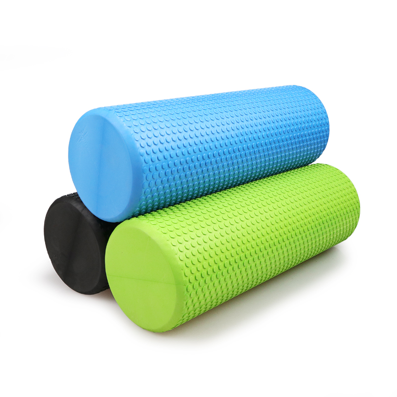 30 45 60CM Yoga Foam Roller High density EVA Muscle Roller Self Massage Tool for Gym