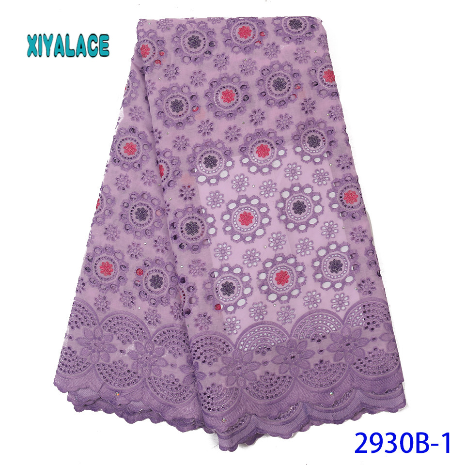 2019 High Quality French Tulle Lace Swiss Lace Fabric Latest African Lace Fabric Nigerian Lace Fabric For Woman Dresses YA2902B1