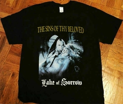 Camiseta vintage os pecados do teu amado lago da tristeza