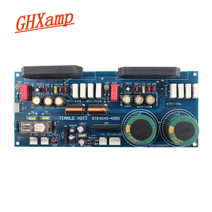 Image 2 - GHXAMP STK4046V Thick Film Amplifier Audio Board 120W*2 High Power 2.0 Audio Amplifiers PC1237 Speaker By Sanyo High Quality