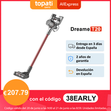 【Promo Code:618FAST6】Dreame T20 Handheld Cordless Staubsauger 25kPa Starken Sog Tragbare Alle In Einem Pinsel Staub Kollektor Boden Teppich Sauger