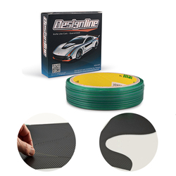 EHDIS 50M Knifeless Tape diseño línea de tintas de ventana herramienta de papel de carbono película adhesiva de corte cinta de vinilo película de envoltura de coche accesorios para cortar