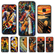 edvard munch the scream painting Case cover FOR HUAWEI MATE 10 20 30 Lite Phone shell Huawei P30 P20 Pro P9 P10 Plus(China)