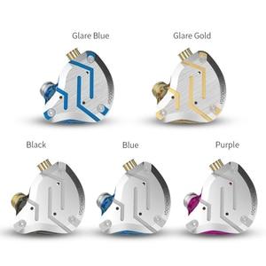Image 3 - KZ ZS10 Pro Metal Headset 4BA+1DD Hybrid 10 drivers HIFI Bass Earbuds In Ear Monitor Headphones Sport Noise Cancelling Earphones