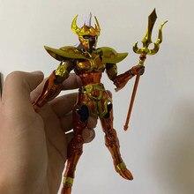 Tronzo modelo JM Saint Seiya EX Poseidón Chrysaor Krishna Poseidón Marina Krishna de PVC figuras de acción de juguete colección de muñecas regalos