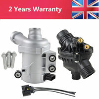 AP03 11517586925 Electric Water Pump+Thermostat Kit For BMW E60 E61 E81 E87 E90 E91 X1 X3 X5 Z4 325i 330i 525i 530i 630i 730i