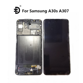 "Original 6.4"" LCD For Samsung Galaxy A30s A307 LCD Display Touch Digitizer With Frame For SAMSUNG A30s A307F SM-A307 LCD Screen"