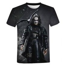 The Crow 3D Printed T-Shirt Horror Movie Fashion Streetwear Men Women O-Neck Oversized T Shirt Harajuku Hip Hop Tees Tops Unisex