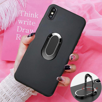 for Huawei Ascend 40 Pro Plus 10 Pro Mate 20X 20 Lite S RS Honor 6 Plus 7 Lite 7i Case Shockproof Soft Car Magnetic Ring Cover image