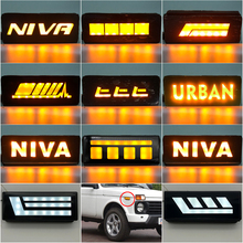 цена на For Lada Niva 4x4 1995 2 x Super Bright Front Parking Front Side Marker Light Bulb Lamp Car Styling Amber Light