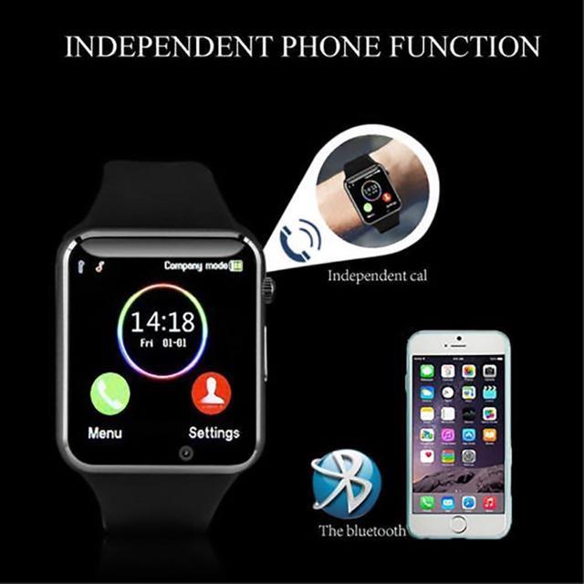 Smart Watch A1 Bluetooth Wrist Watch Sport Pedometer With SIM Camera SmartWatch Waterproof  For Android IOS