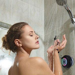 Image 3 - Sans fil Bluetooth haut parleur Portable étanche douche haut parleur mains libres voiture pour iPhone iPod Android téléphones MP3 haut parleur