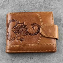 Vintage 100% Genuine Leather Men Wallets small wallet Coin Purse Card Holder Short Wallet Cowhide Male Purse billetera hombre 2018 genuine leather men wallets short coin purse small vintage wallet cowhide leather card holder pocket purse men wallets