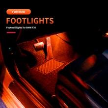Footwell Ambient Light For BMW F10 F30 F01 F02 F20 F21 F22 F23 F25 F26 F32 F48 Car Interior Footwell Ashtray Atmosphere LED Lamp