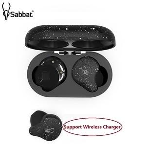 Image 2 - Original Sabbat X12 Ultra TWS Snow White Bluetooth V5.0 Qualcomm Aptx Wireless Stereo Earphones Charging box