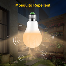 Mosquito Repellent Lamp LED Bulb Electric Trap Mosquito Killer Light E27 Electronic Anti Insect Bug Led Night Lamps(China)