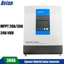 Epever ® ip1500-22 Pur Sinus Convertisseur de tension 1500 W 24v-230v inverter