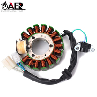 JAER High Quality Motorcycle Stator Coil for Yamaha YP125 YP125E YP125R MAJESTY 125 1998 2007 YP150 YP180 MAJESTY 150 180 DT150