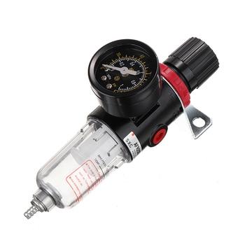 цена на 1/4 Air Pressure Water Regulator Compressor Moisture Trap Filter for Oil Water Separator Moisture Filter