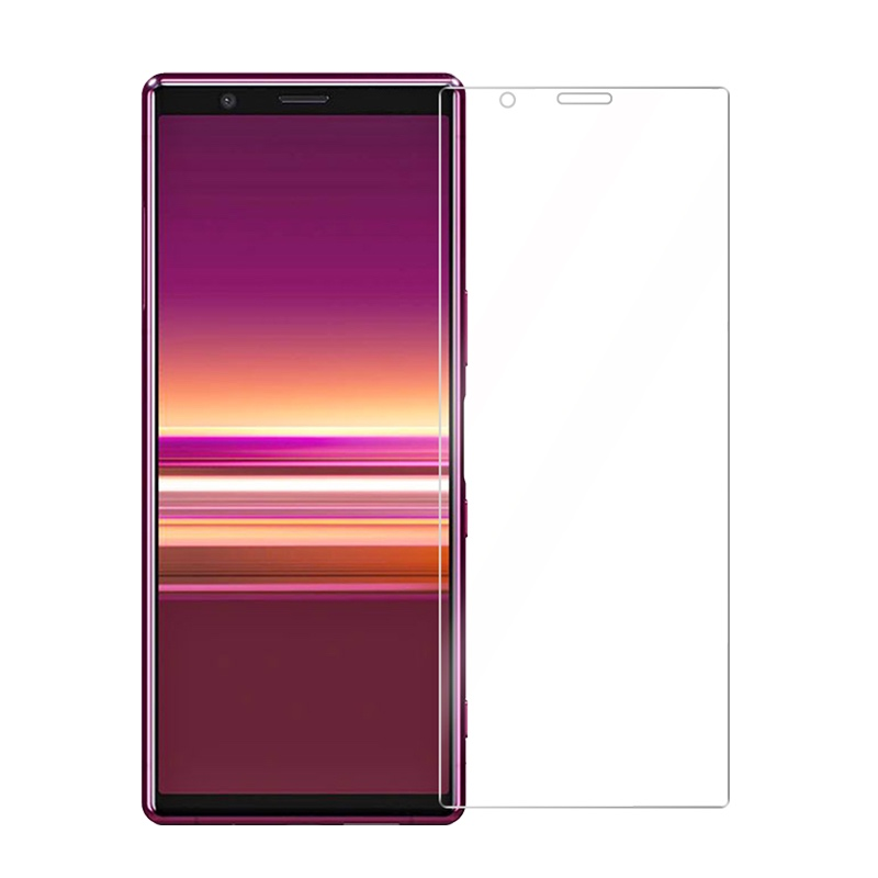 2.5D 9H Tempered Glass For Sony Xperia 5 Glass Screen Protector  Premium Hydrogel Film For Sony Xperia 5 Protective HD Film