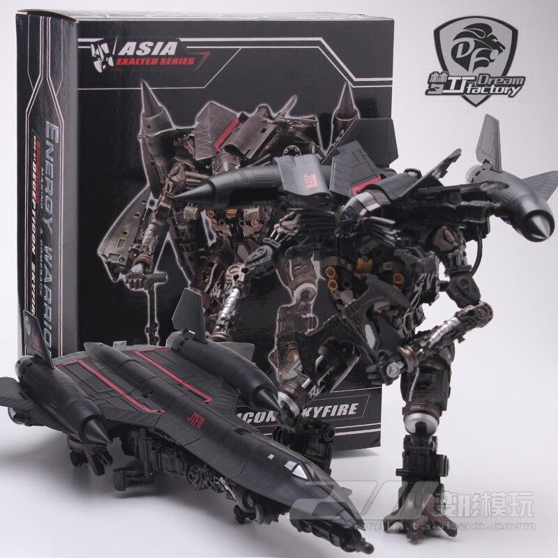 Трансформация фильм 2 мести павших Jetfire Skyfire GOD01 лидер Япония металлическое покрытие издание фигурка Робот Игрушки