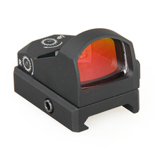 цена на HOT hunting scopes Holographic Red Dot  collimator optics rifle scope Sight  Micro Dot Reflex  Sight Airsoft Hunting 2-0117