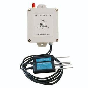 Image 2 - LoRa senza fili di umidità del terreno ph sensore 433/868/915mhz di umidità di temperatura ph conducibilità elettrica 4 in 1 sensore di data logger