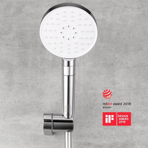 Image 2 - Youpin dabai Diiib 3 Modes Handheld Shower Head Set 360 Degree 120mm 53 Water Hole with PVC Matel Powerful Massage Shower