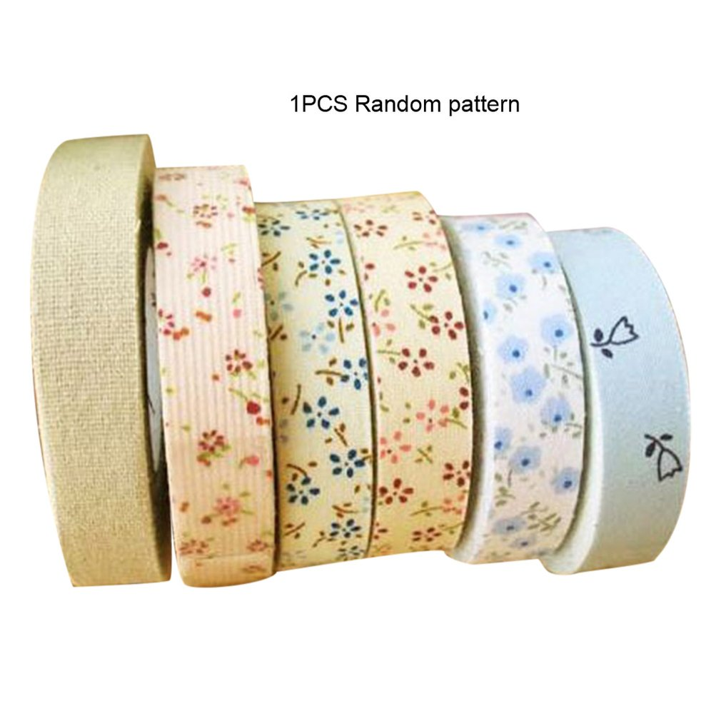 Printing Tape Floral Printing Ironed Single Fold Cotton Bias Tape Bias Binding For Table Cloth Garment Quilt Craft Sewing