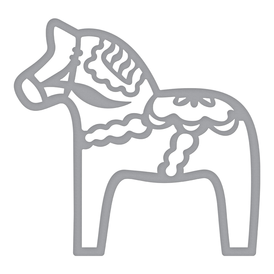 New <font><b>Metal</b></font> Cutting Dies and Scrapbooking For Paper Making <font><b>Horse</b></font> Background Decor Embossing Without Stamps Frame Card Craft 2019 image