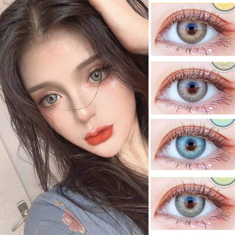 EYESHARE 2pcs/pair 2020 New Colored Contact Lens Color Contact Lenses Colored Eye Lenses