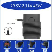 19.5V 2.31A 45W 15 laptop charger ac power adapter para Dell Vostro 3561 3562 3565 3568 3572 3578 5568 5370 XPS 13 13 9333 9344