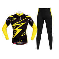 New Men Cycling Jersey Breathable Long Sleeve Quick dry Bike MTB Cycling Suit Pro Riding Equipment Outdoor Sportswear Suit