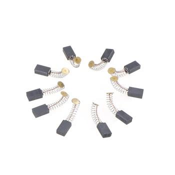 5 rozmiarów 10 sztuk Mini wiertarka części zamienne do szlifierki elektrycznej części zamienne do szczotek węglowych na silniki elektryczne narzędzie obrotowe tanie i dobre opinie ZLinKJ Carbon Brushes